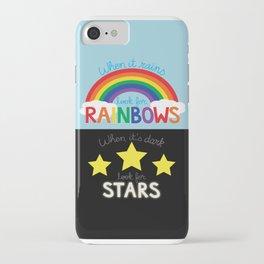 Rainbows & Stars iPhone Case