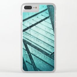 Paving Slabs and Railings. Clear iPhone Case