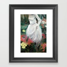 Girl #2 Framed Art Print