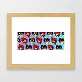 YYH: Guns and Thorns Cuteness  Framed Art Print