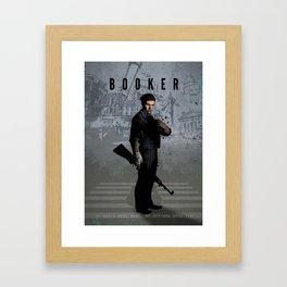 Legends of Gaming - Booker Framed Art Print