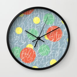 I'm Fine & You Wall Clock