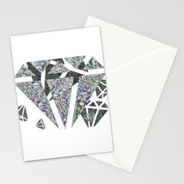 Dead diamonds Stationery Cards