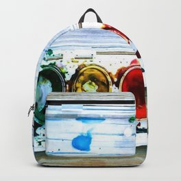 forrest's paint Backpack