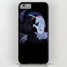 Starwars with unicorns (black) iPhone 6s Plus Slim Case
