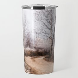 Winer in the country Travel Mug