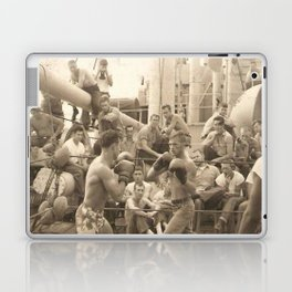 Past Time Battles Laptop & iPad Skin