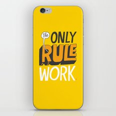 The Only Rule iPhone & iPod Skin