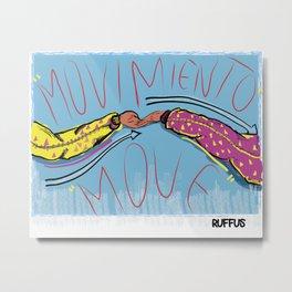 Moviento / Move Metal Print