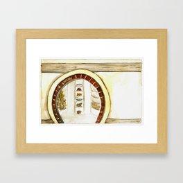 Bilbo's Pantry Framed Art Print