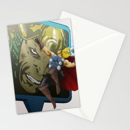 Google`s World | Marvel'Edition Thor Stationery Cards