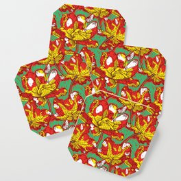 Impressionst's tulips Coaster