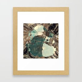 Gateway to something brighter Framed Art Print