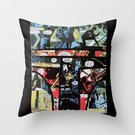 Boba Fett Collage Throw Pillow