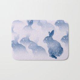 Snow bunny Bath Mat