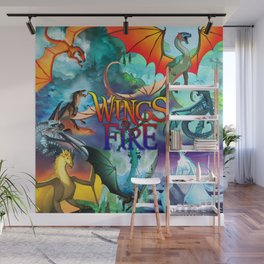 Wings Of Fire Wall Mural