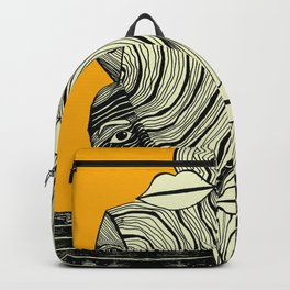 Body in Absraction 2 Backpack