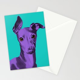 Albert the Curious Greyhound Stationery Cards