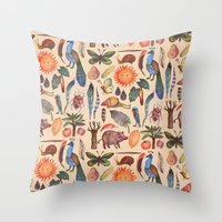 tropical Throw Pillows featuring Tropical by Vlad Stankovic