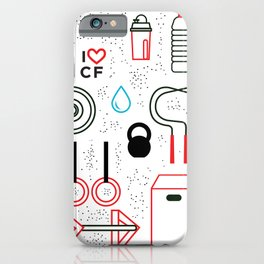 CrossFit Love iPhone Case