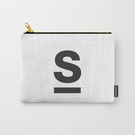 Letter and Line Carry-All Pouch