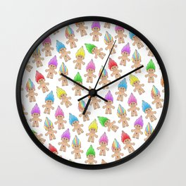 Troll Magic Wall Clock