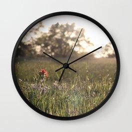 Saturday in Texas Wall Clock