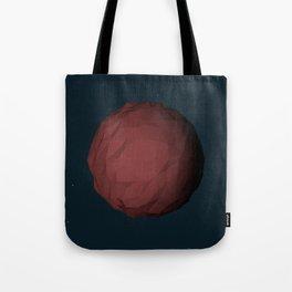 Planet Mars Low Poly Tote Bag