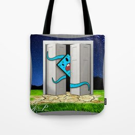 Monsters In The Closet Tote Bag