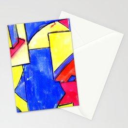 observational clockwork Stationery Cards
