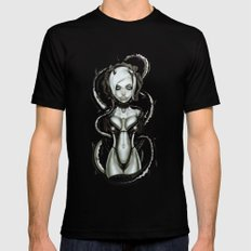 The Flower of Carnage Black MEDIUM Mens Fitted Tee