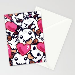 League of Legends Poro Party Stationery Cards
