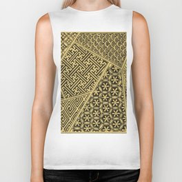 Japanese Patterns Biker Tank