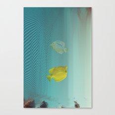 Under da glitch PT.2: A story of loss Canvas Print