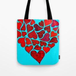 Valentines at Tiffanys Tote Bag