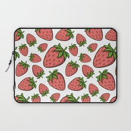 Strawberrfectly Normal Laptop Sleeve