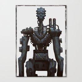 Cyber skull Robot  Canvas Print