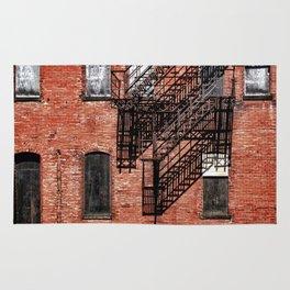 Tenement facade  Rug