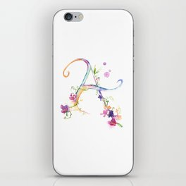 Letter A - Monogram Initial iPhone Skin