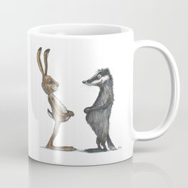 Hare & Badger Coffee Mug