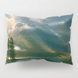 Scenery in the Grand Tetons by Albert Bierstadt Pillow Sham