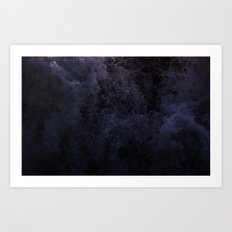 Acqua Nebulae 5 Art Print