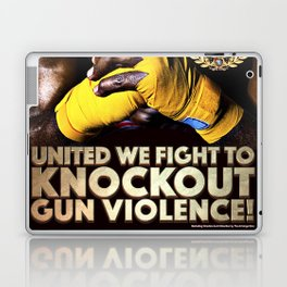 United We Fight to Knockout Gun Violence Laptop & iPad Skin