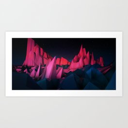 #Transitions XXVII - Ventures Art Print