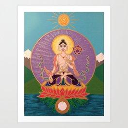 White Tara 2 Art Print