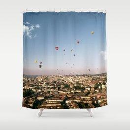 Balloons Over Bristol Shower Curtain
