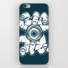 Open Your Eye iPhone Skin