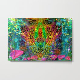 The Witch's Nest Metal Print
