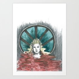 WARRIOR Art Print