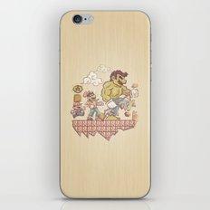 Radioactive Mushroom iPhone & iPod Skin